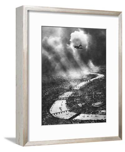 View of London, 1926-1927-Alfred G Buckham-Framed Art Print
