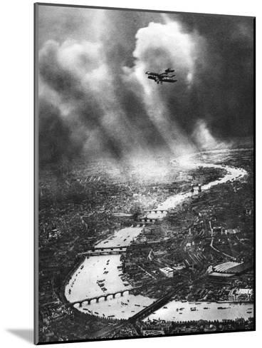 View of London, 1926-1927-Alfred G Buckham-Mounted Giclee Print