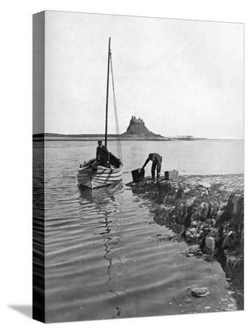 Holy Island, Northumberland, 1924-1926-Alfred Hind Robinson-Stretched Canvas Print