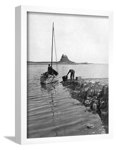 Holy Island, Northumberland, 1924-1926-Alfred Hind Robinson-Framed Art Print