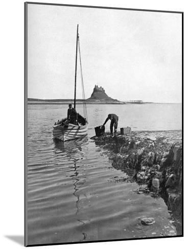 Holy Island, Northumberland, 1924-1926-Alfred Hind Robinson-Mounted Giclee Print