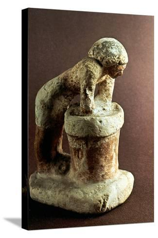Brewer, Ancient Egyptian Model--Stretched Canvas Print