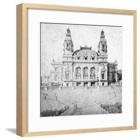 The Casino at Monte Carlo, Monaco, Late 19th Century-Alfredo Noack-Framed Art Print
