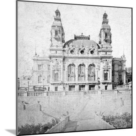 The Casino at Monte Carlo, Monaco, Late 19th Century-Alfredo Noack-Mounted Giclee Print