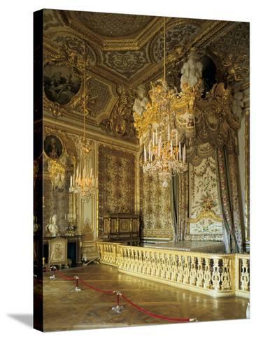 The Queen's Bedchamber, the Queen's Suite (Grand Appartement De La Rein)--Stretched Canvas Print