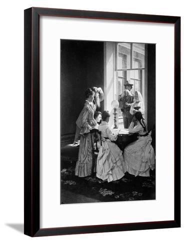 Russian Composition, C1870S-C1880S-Andrei Osipovich Karelin-Framed Art Print