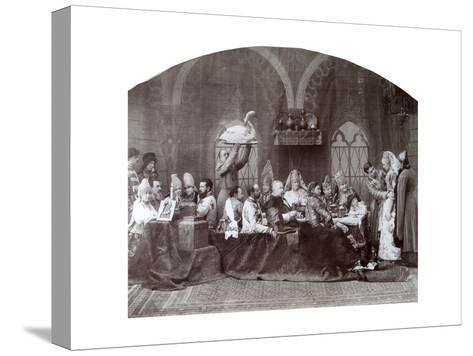 Boyar's (Nobleman') Wedding, Russia, C1883-C1884-Andrei Osipovich Karelin-Stretched Canvas Print