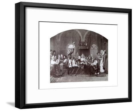Boyar's (Nobleman') Wedding, Russia, C1883-C1884-Andrei Osipovich Karelin-Framed Art Print