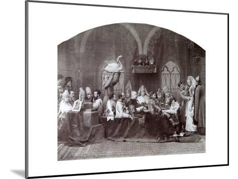 Boyar's (Nobleman') Wedding, Russia, C1883-C1884-Andrei Osipovich Karelin-Mounted Giclee Print