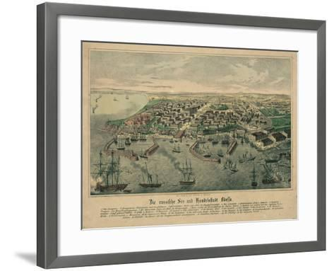 The Odessa Map--Framed Art Print