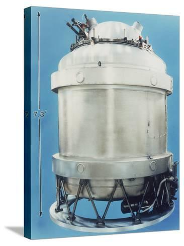 Cryostat for Cobe Satellite, 1989, Usa--Stretched Canvas Print