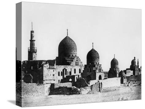Mosque, Egypt, 1862-A Beato-Stretched Canvas Print