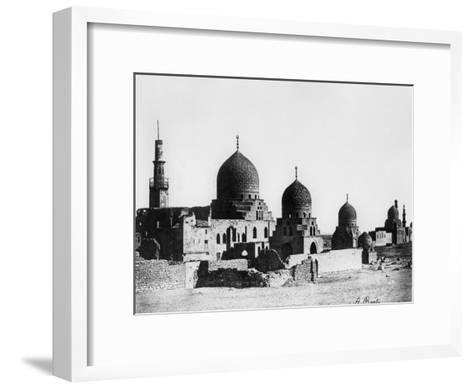 Mosque, Egypt, 1862-A Beato-Framed Art Print