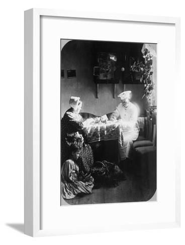 Composition, C1870s-C1880s-Andrei Osipovich Karelin-Framed Art Print