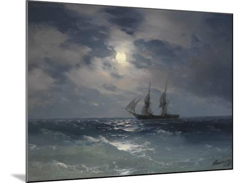 Brig Mercury-Ivan Konstantinovich Aivazovsky-Mounted Giclee Print