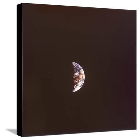 The Earth from Space, 1968--Stretched Canvas Print