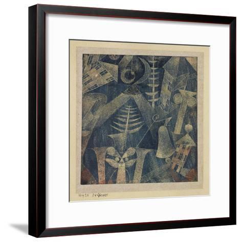The Bell!-Paul Klee-Framed Art Print