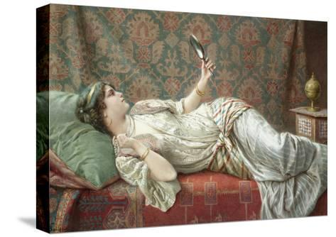 Odalisque-Francesco Ballesio-Stretched Canvas Print