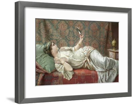 Odalisque-Francesco Ballesio-Framed Art Print