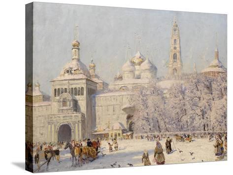 Blagovest-Nikolai Nikanorovich Dubovskoy-Stretched Canvas Print