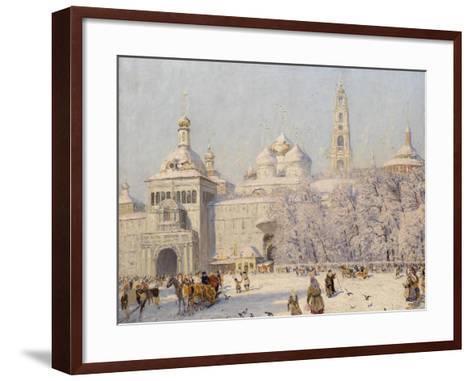 Blagovest-Nikolai Nikanorovich Dubovskoy-Framed Art Print