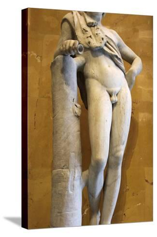Statue of a Resting Satyr-Praxiteles Praxiteles-Stretched Canvas Print