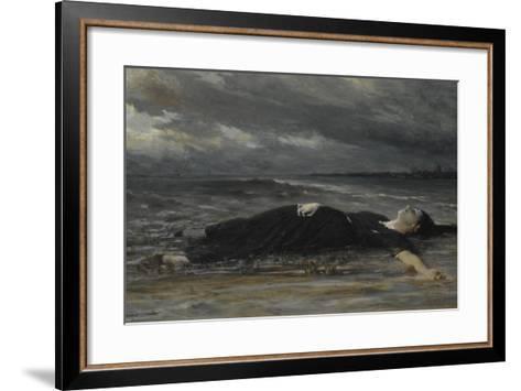 Ophelia-Constantin Emile Meunier-Framed Art Print