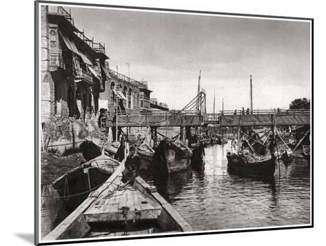 The Whiteley Bridge, Ashar Creek, Basra, Iraq, 1925-A Kerim-Mounted Giclee Print