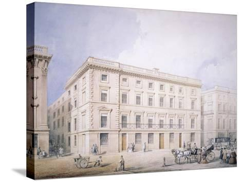 West End of Moorgate Street--Stretched Canvas Print