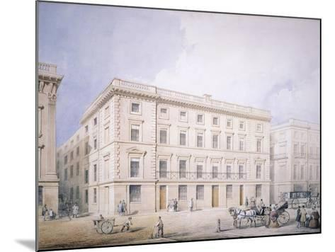 West End of Moorgate Street--Mounted Giclee Print