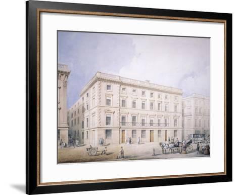 West End of Moorgate Street--Framed Art Print