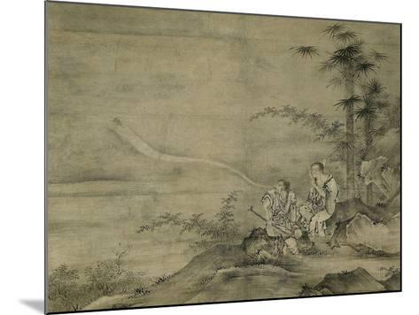 Genii Gama Sennin and Tekkai Sennin, Second Half of The16th C-Kano, Motonobu-Mounted Giclee Print