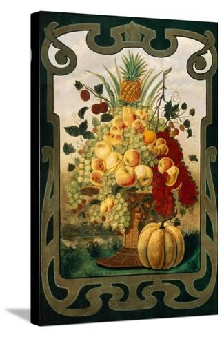 Sign Board for Fruit Shop, Early 20th C--Stretched Canvas Print