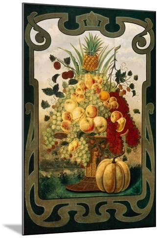 Sign Board for Fruit Shop, Early 20th C--Mounted Giclee Print