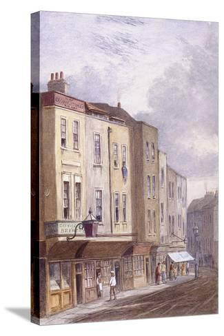 Crown and Coopers' Arms, Golden Lane, London, 1869--Stretched Canvas Print