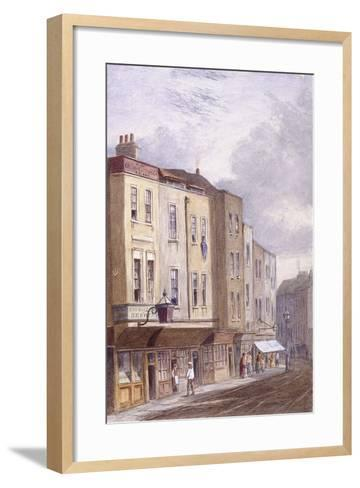 Crown and Coopers' Arms, Golden Lane, London, 1869--Framed Art Print