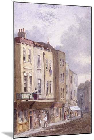 Crown and Coopers' Arms, Golden Lane, London, 1869--Mounted Giclee Print