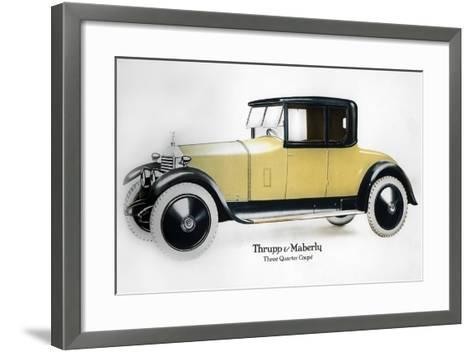 Rolls-Royce Three Quarter Coupe, 1910-1929--Framed Art Print