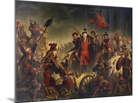 Death of Stanislaw Zolkiewski in a Battle of Cecora 1620, 1877-Walery Eljasz-Radzikowski-Mounted Giclee Print
