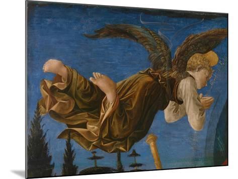 Angel (Panel of the Pistoia Santa Trinità Altarpiec), 1455-1460-Francesco Di Stefano Pesellino-Mounted Giclee Print