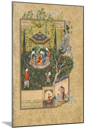 Folio from Haft Awrang (Seven Throne) by Jami, 1550S--Mounted Giclee Print
