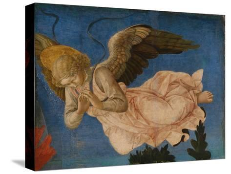 Angel (Panel of the Pistoia Santa Trinit? Altarpiec), 1455-1460-Francesco Di Stefano Pesellino-Stretched Canvas Print