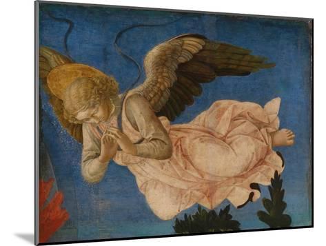 Angel (Panel of the Pistoia Santa Trinit? Altarpiec), 1455-1460-Francesco Di Stefano Pesellino-Mounted Giclee Print