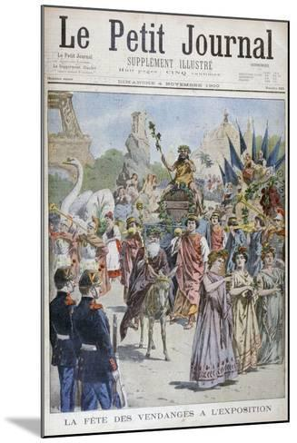 The Grape Harvest Festival, Universal Exhibition of 1900, Paris, 1900--Mounted Giclee Print