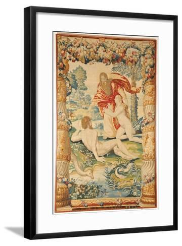 Adam and Eve (Tapestr), C. 1650-1660--Framed Art Print