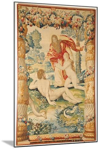 Adam and Eve (Tapestr), C. 1650-1660--Mounted Giclee Print