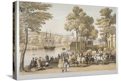 The Great Exhibition, Hyde Park, Westminster, London, 1851-Day & Son-Stretched Canvas Print