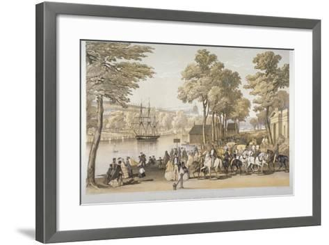 The Great Exhibition, Hyde Park, Westminster, London, 1851-Day & Son-Framed Art Print