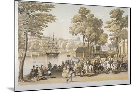 The Great Exhibition, Hyde Park, Westminster, London, 1851-Day & Son-Mounted Giclee Print