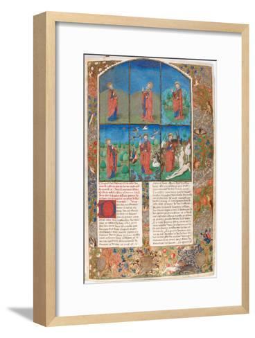 The Creation (From: L'Antiquité Judaïque by Flavius Josephu)--Framed Art Print